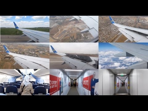 [Full Flight] Aerosvit Boeing 737-800 UR-AAN/UR-PSE Flight VV237 Kiev - Tel Aviv 27/5/2012