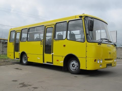 """Автобус разорвало пополам!, или что осталось от """"Богдана"""" за 10 лет."""