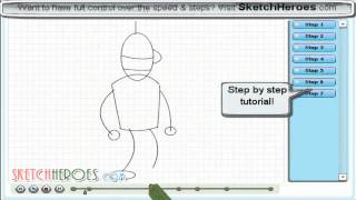 How to draw -Bender- (Futurama) -- drawing tutorial video