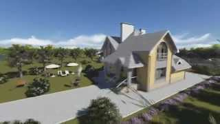 Проект дома из теплоблока ТБ 50 (268 м2)