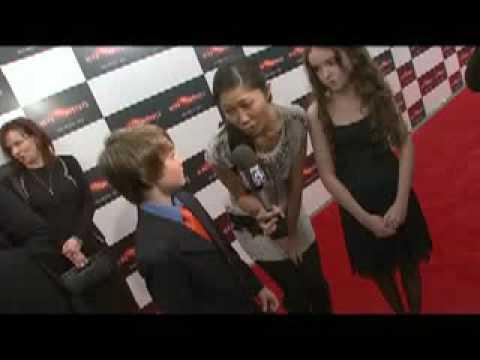 Chandler Canterbury & Lara Robinson  Knowing NY Premiere  2