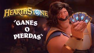 Corto animado de Hearthstone: Ganes o pierdas