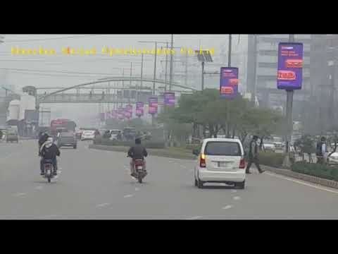 Outdoor  Lamppost LED Display P8