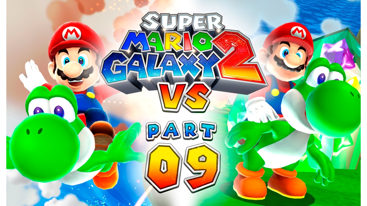 Super Mario Galaxy 2: VS - Part 09 (4-player) - YouTube