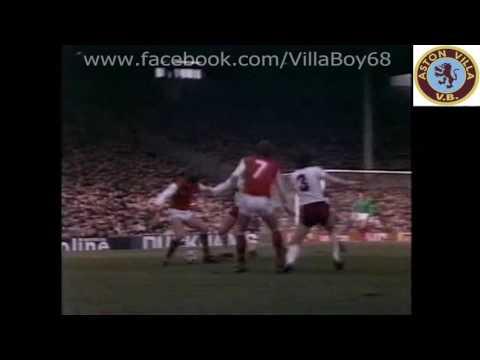 Arsenal 2 Aston Villa 0 - FA Cup 6th Rd - 12th March 1983