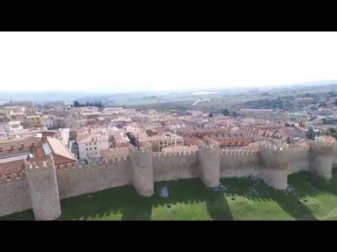 Avila Walls Spain Drone Aerial DJI