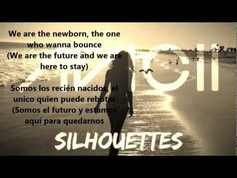 Avicii - Silhouettes Lyrics (Spanish & English)