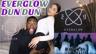 Gambar cover EVERGLOW (에버글로우) - DUN DUN MV| REACTION|