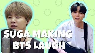 Suga Making BTS Laugh | 2020 (Part 3)