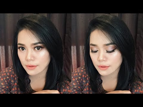 FULL FACE 100% INDONESIA LOCAL BRAND MAKEUP TUTORIAL | Nitha Fitria