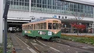 富山地方鉄道7000形(7018号) 富山駅にて