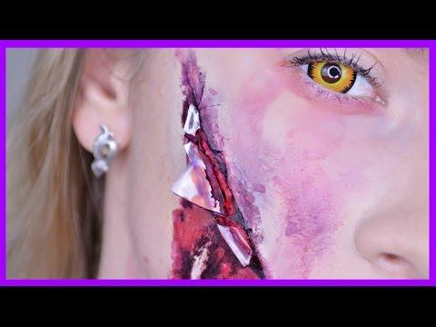 DIY МАКИЯЖ НА ХЭЛЛОУИН//  Halloween Makeup Tutorial