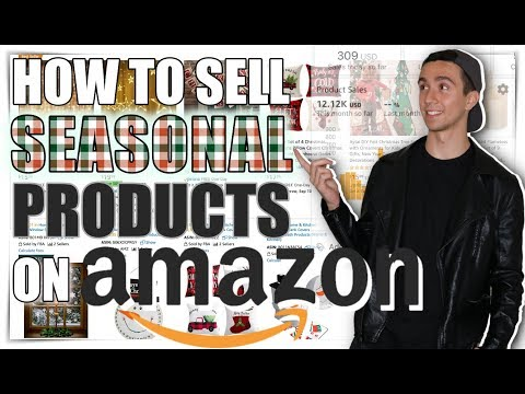 How to Sell Seasonal Amazon FBA Products to Make $10,000+ Per Month This Q4