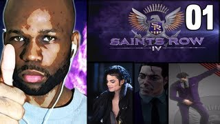 Saints Row 4 Gameplay Walkthrough - Michael Jackson PART 1 (Lets Play) (Playthrough)