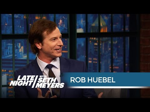 Rob Huebel on the Time Chevy Chase Slapped Him  Late Night with Seth Meyers