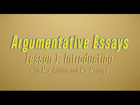 Argumentative Essays, Part 1: What is a Claim Statement?