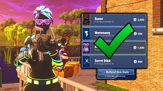FORTNITE REFUND SYSTEM?! // FREE V BUCKS GIVEAWAY // Fortnite FREE V BUCKS