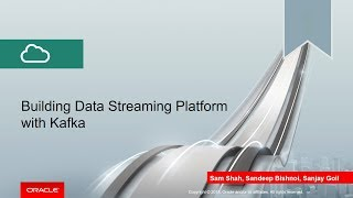Building Data Streaming Platform with Kafka video thumbnail