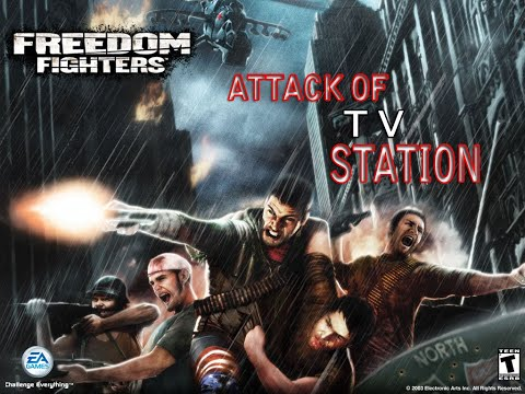 ATTECK OF TV STATION Freedom Fighters ACTION GAME Walkthrough Gameplay  