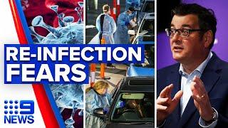Coronavirus: Health authorities investigate rare case of re-infection   9 News Australia