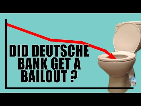 MASS PANIC as Biggest Ever Bail-In to Occur in Germany's Deutsche Bank!