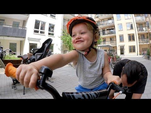 Lära sig cykla VLOGG