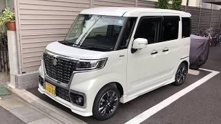新型スペーシアカスタムXS 納車!内外装チェック。