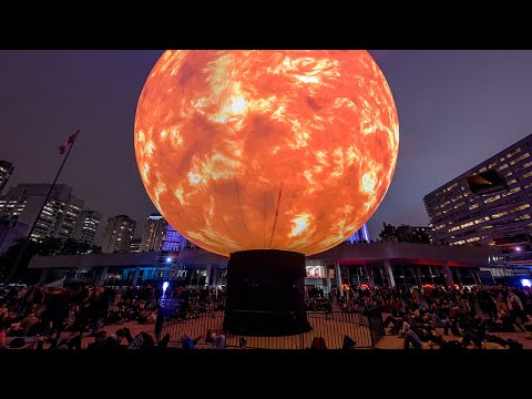 See the Nuit Blanche Toronto 2016 Extended Projects!