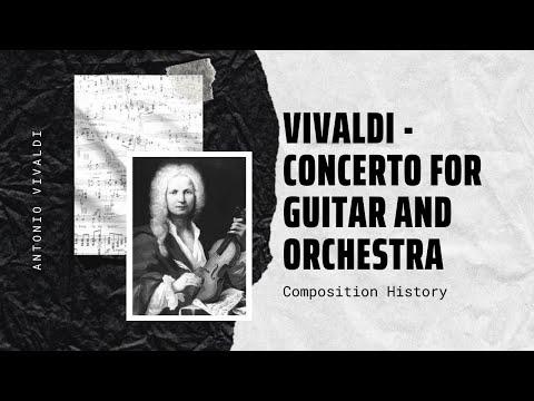 Vivaldi - Concerto for Guitar and Orchestra in C Major