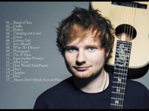 Ed Sheeran -- Playlist   🎶🎵🎶 | Best of All Time