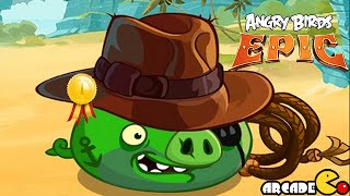 Angry Birds Epic: NEW Cave 6, Endless Winter 6 NO Hacking Team Up Pigiana John