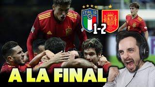 RETRATADO por GAVI ITALIA 1 2 ESPAÑA EXHIBICIÓN y a la FINAL LUÍS ENRIQUE HACE LO QUE QUIERE