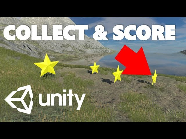 Mini Unity Tutorial - How To Make A Collectable And Scoring System In C#
