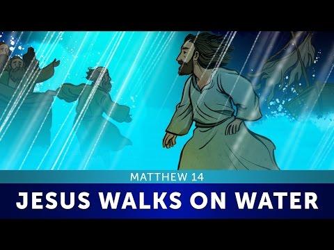 Jesus Walks On Water: Matthew 14   Bible Story For Kids   Sharefaithkids.com (Full Movie)