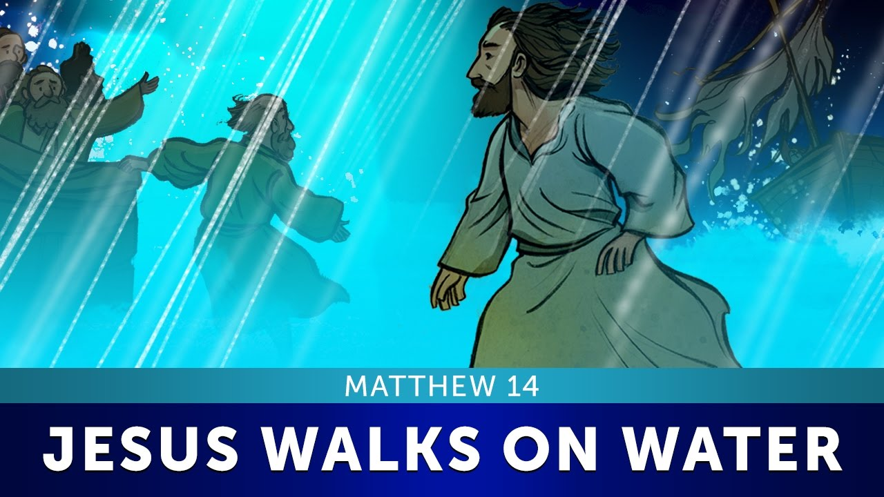 Sunday School Lesson For Kids Jesus Walks On Water