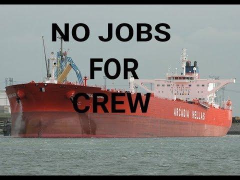 No Jobs for crew in Merchant Navy 2018