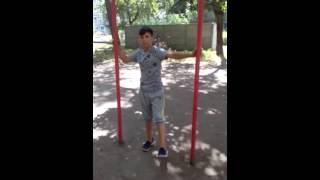 Быстрое обучение трюков на турнике урок 3