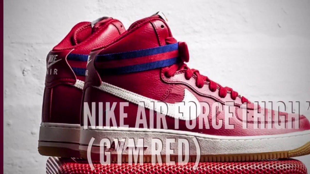 Nike Air Force 1 High 07 Red