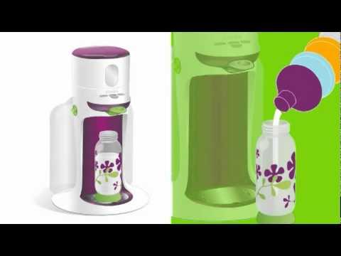 Calienta biberones bib expresso de baba en mainada youtube for Robot de cocina para bebes