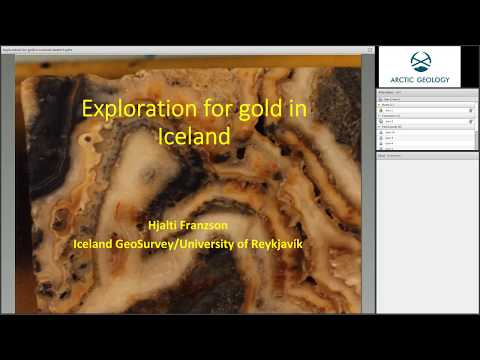 Gold exploration in Iceland
