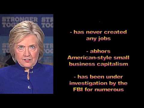 Hillary Clinton's Laundry List