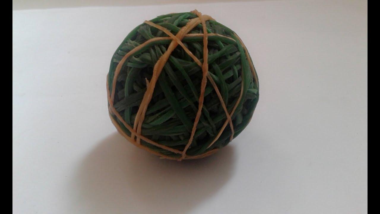 (balls of rubber) Bola dari karet gelang - YouTube