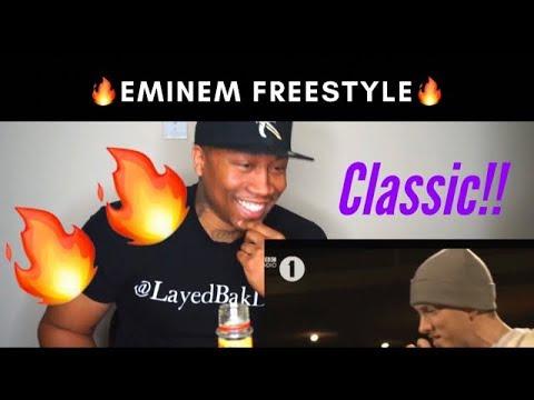 Eminem Best Freestyle Ever (REACTION!!!)