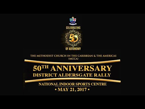 50th Anniversary Celebration - Methodist Church in the Caribbean & the Americas (MCCA)