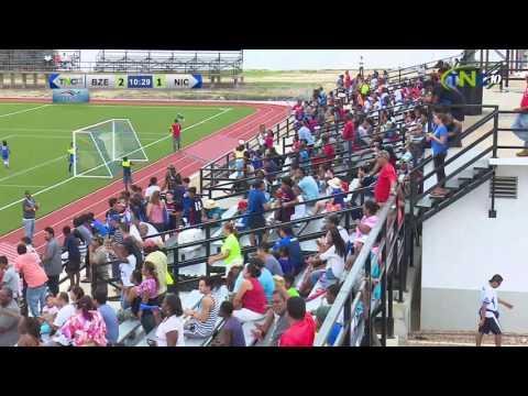 CODICADER 2016 FOOTBALL BELIZE VS NICARAGUA BOYS
