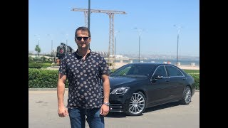 Mercedes-Benz S450 Test Drive. God Father! ЦАРЬ ВСЕХ СЕДАНОВ! Tест-драйв Mercedes-Benz S450 W222.