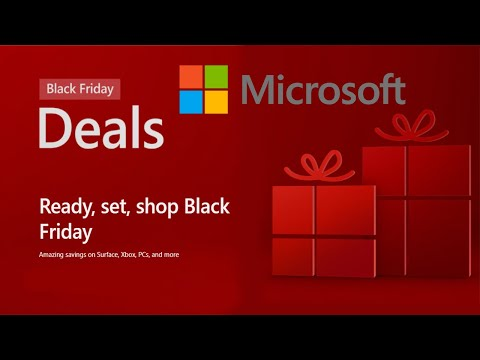 Microsoft Store Black Friday And Cyber Monday Deals