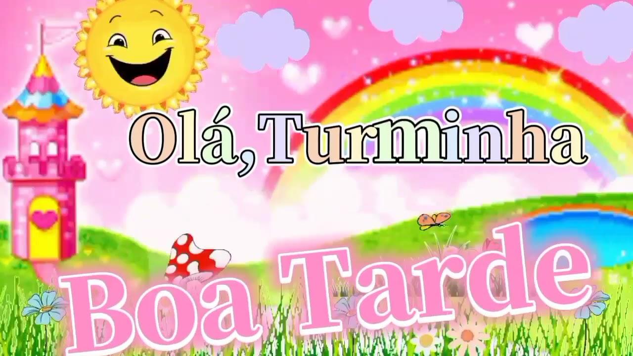 BACKGROUND BOA TARDE TURMINHA - YouTube