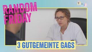 """RANDOM FRIDAY – 3 gutgemeinte Gags: """"F2: Rapfelarzt"""""""