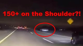 MUSTANG Gets BUSTED STREET RACING And RUNS From POLICE!! (HE GOT AWAY!!!)